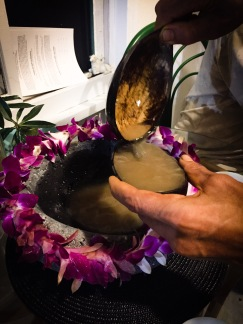 Pouring 'Awa post Oath Sacred Celebration